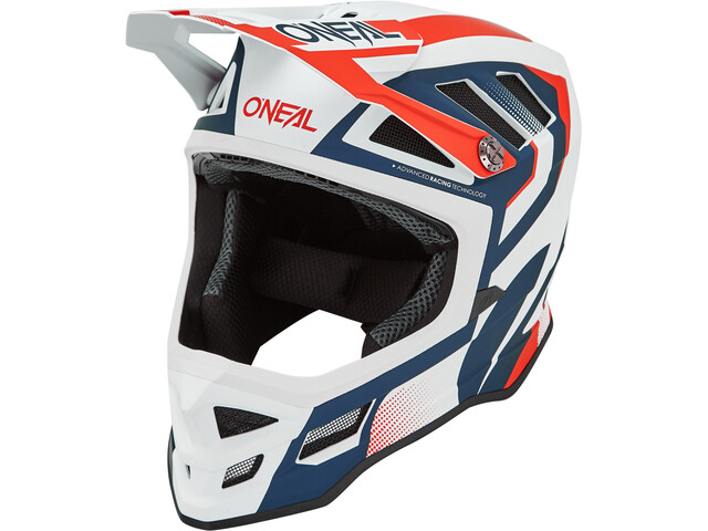 O'Neal Blade Hyperlite Fietshelm, blue/red
